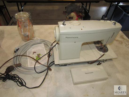 Kenmore Sears Sewing Machine Model 158.1357