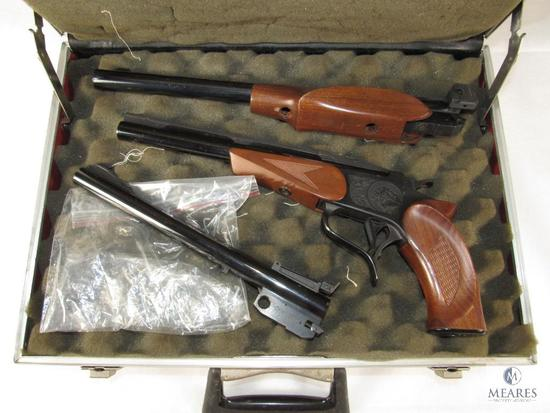 Thompson Center Contender Pistol w/ 3 Barrels .357, .44 Mag, .222 Rem