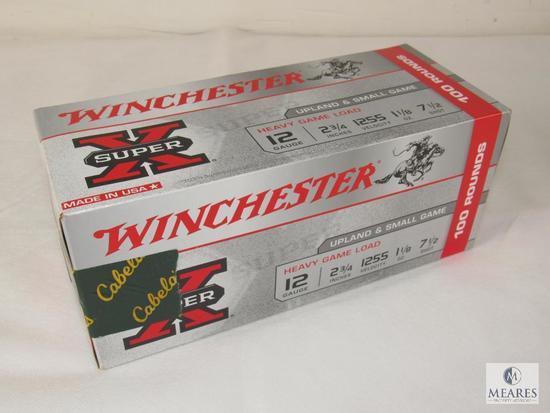 Box 100 Rounds Winchester 12 Gauge Upland / Small Game Shotgun Shells