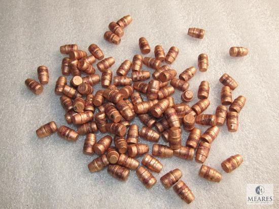 41 Cal, Semi wadCutter, 210 Gr, Copper plated, Approximately 100 Bullets ( .411 Diameter)