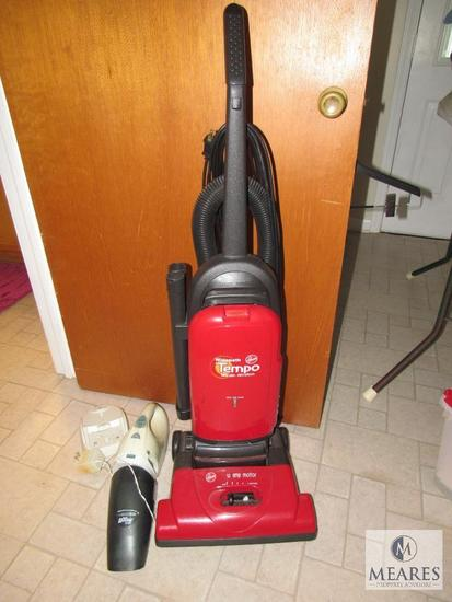 Hoover widepath tempo allergen filtration vacuum and Dust Buster