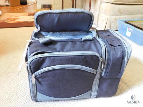 Malibu Insulated Cooler Picnic Set