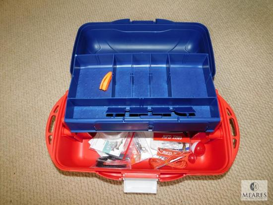Eagle Claw Tackle Box with Fishing Accessories