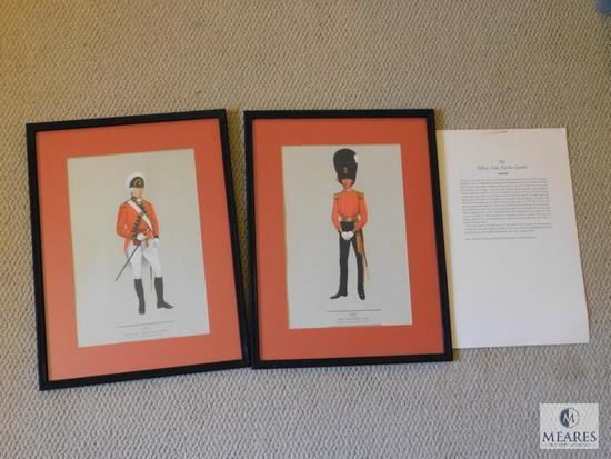 Lot 2: Royal Officer Framed Prints