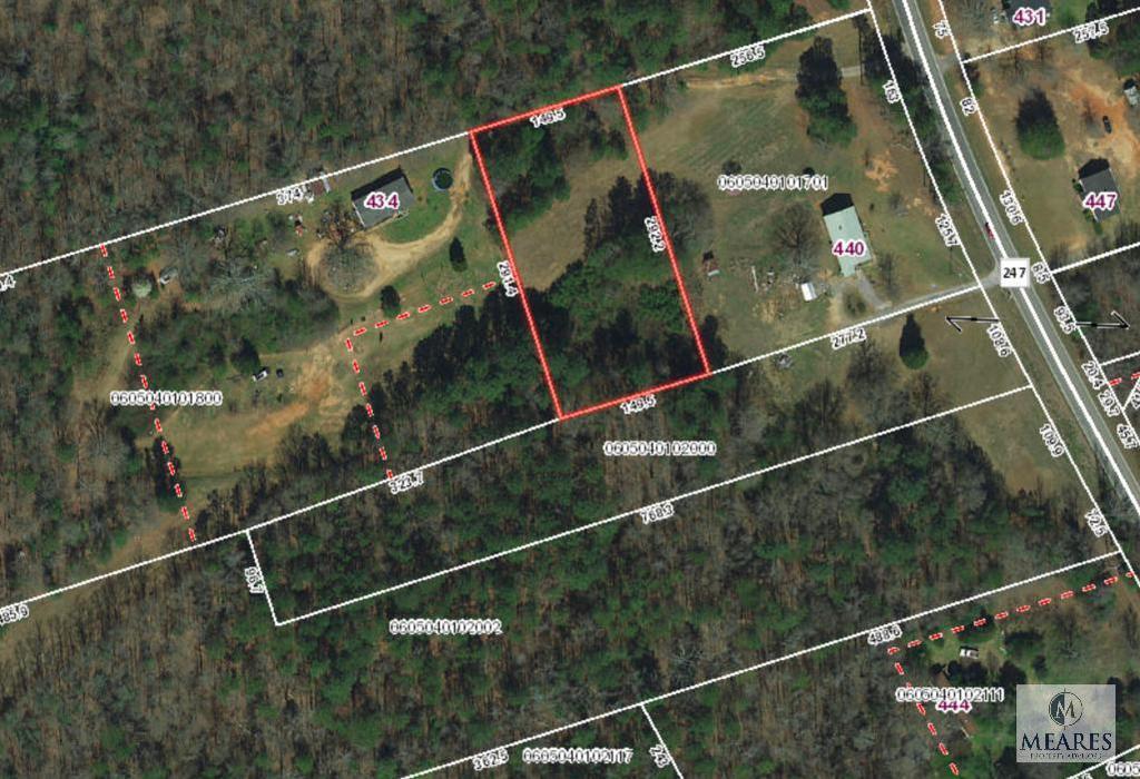 Property adjacent to 440 Cooley Bridge Road, Pelzer, SC 29669