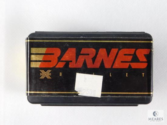 "Barnes 7mm, 160 Grain ""X"" Bullets, Approximately 38 Count Partial Box"
