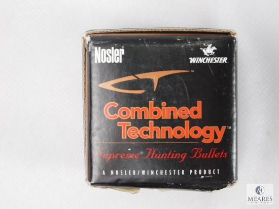 Nosler Ballistic 30 Caliber, 168 Grain Bullets, Approximately 50 Count