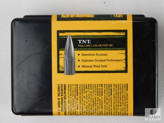Speer TNT HP, 7mm, 110 Grain Bullets, Approximately 70 Count Partial Box