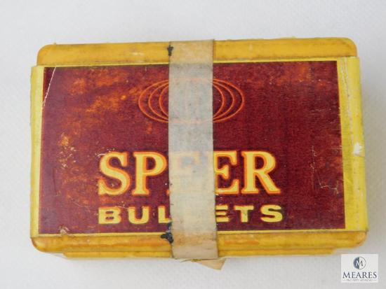 Speer 30 Caliber, 170 Grain, Flat Nose Bullets, Approximately 90 Count