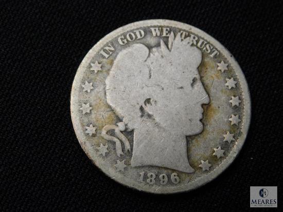 1896-O Barber Half Dollar
