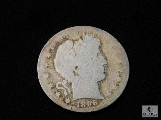 1896-S Barber Half Dollar