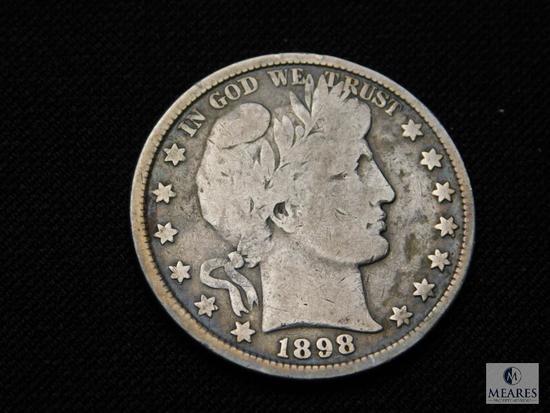 1898 Barber Half Dollar