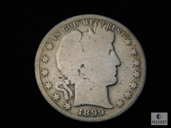 1899-S Barber Half Dollar