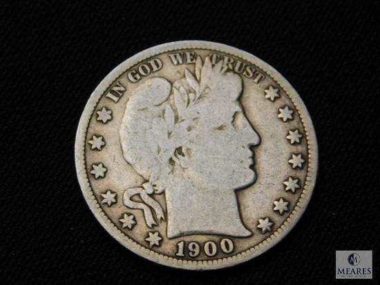 1900-S Barber Half Dollar