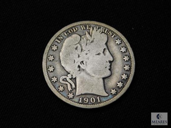 1901-O Barber Half Dollar