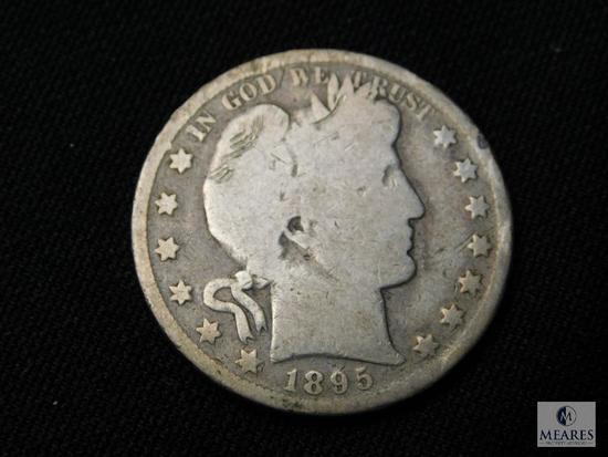 1895 Barber Half Dollar