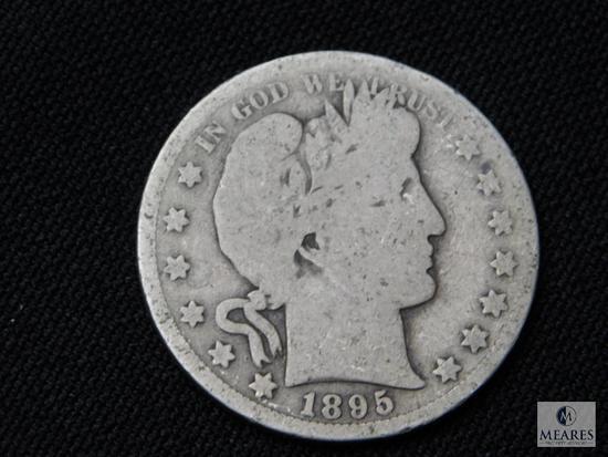 1895-S Barber Half Dollar