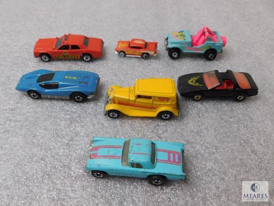Lot Matchbox & Hot Wheels 7 Cars