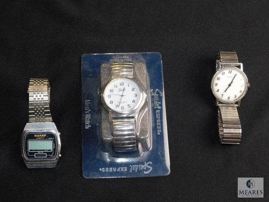 Assorted lot of mens watches