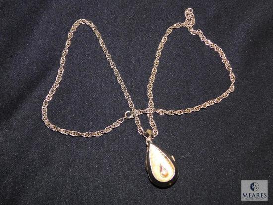 Vintage Hampden pendant watch