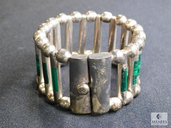Vintage Mexican sterling Modernist bracelet