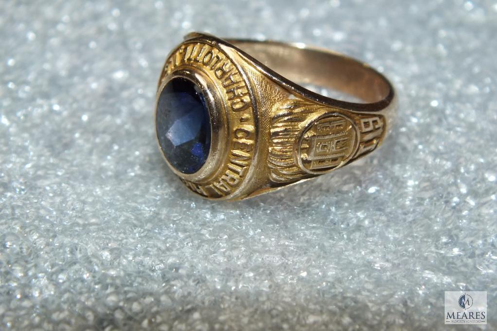 10K Central High School Charlotte NC Ring 1938