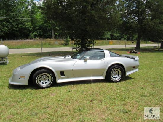 1981 Chevrolet Corvette - VIN # 1G1AY8765BS405079 - 10% BP