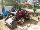 Homiers Farm Pro 2425 4wd Tractor with Front Loader Bucket