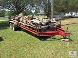 Shelby Trailer 7' x 20' Metal Mesh Bed with Removable Side Rails