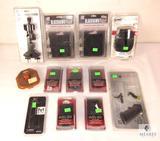 Lot New Mag Holsters, Picatinny Rail, .308 Lower Parts Kit, Camera Multi Mount & Headlamp