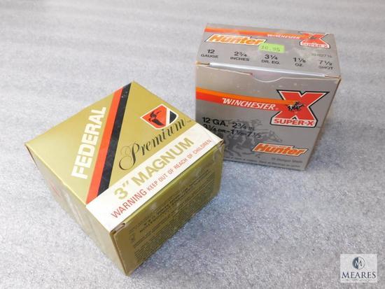 "Lot 12 Gauge Shotgun Shells 3"" Magnum +"
