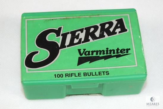 100 Count Sierra 7mm .284 diameter bullets 100 grain hollow point