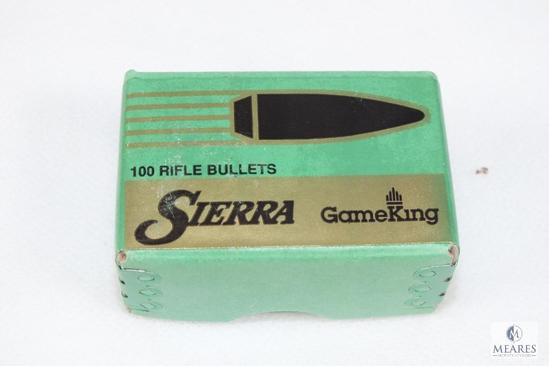 100 Count Sierra 22 Caliber bullets 55 grain hollow point boat tail