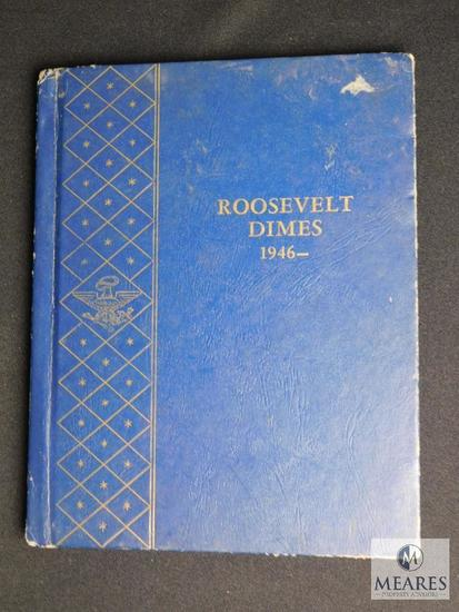 Franklin D. Roosevelt Dimes Collection 1946 to 1964-D
