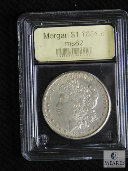 1884-S Morgan Dollar MS62