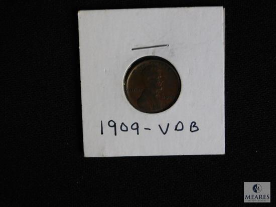 1909 VDB Wheat Cent Penny