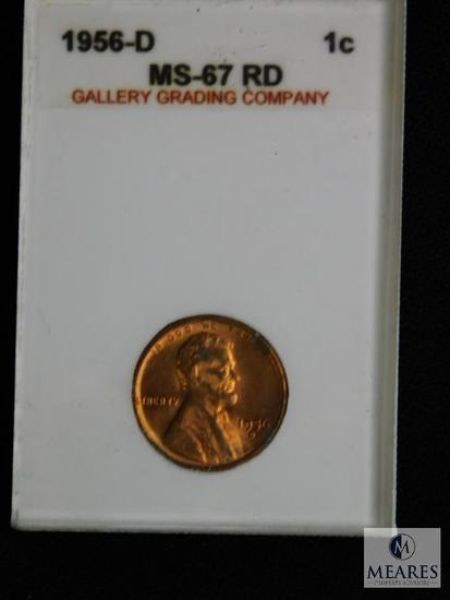 1956-D Wheat Cent