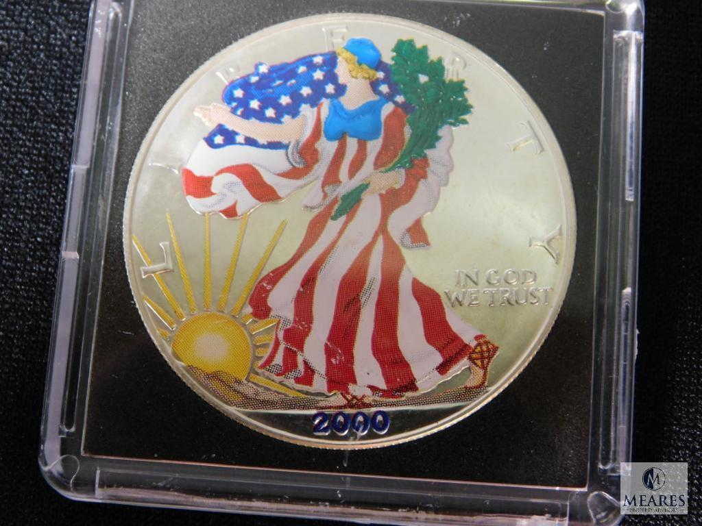 2000 American Eagle Liberty Silver Dollar