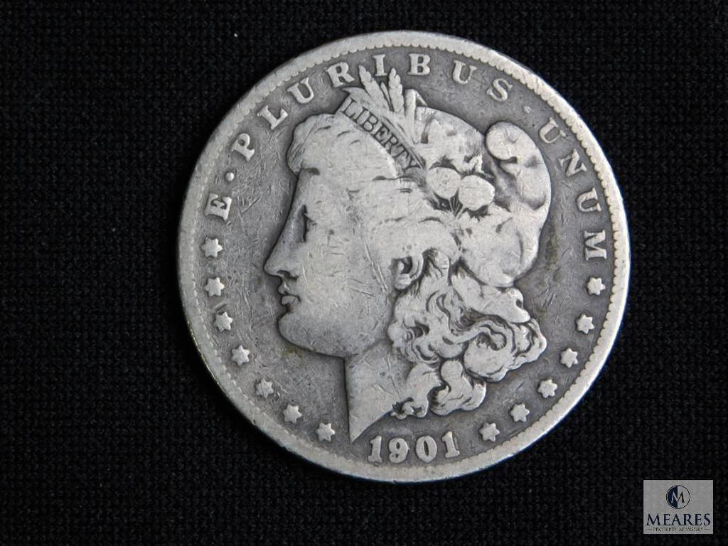 1901 Morgan Silver Dollar