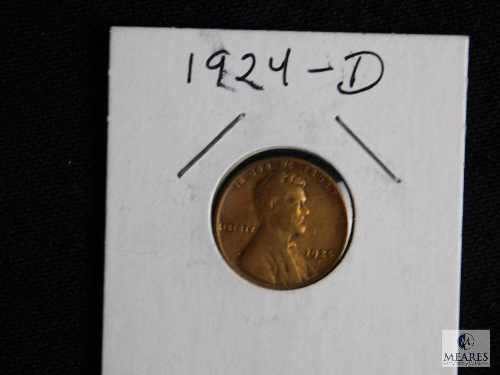 1924-D Wheat Cent Penny