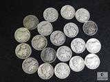 Lot 20 Mercury Dimes Mix Dates