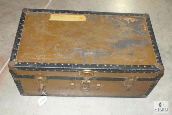 Vintage Footlocker Trunk chest
