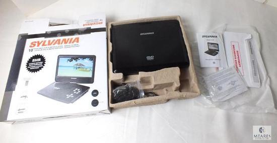 "Sylvania 10"" Portable DVD & Media Player swivel screen"