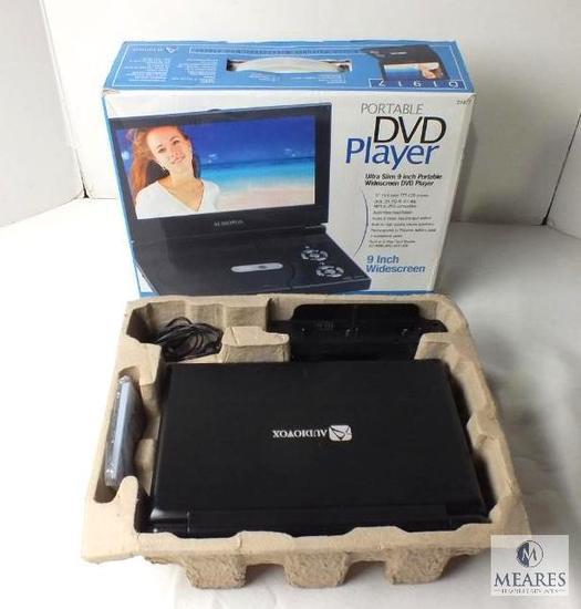 """Audiovox Portable DVD Player 9"""" wide screen"""