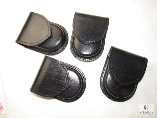 Lot 4 New Hunter leather Handcuff Cases