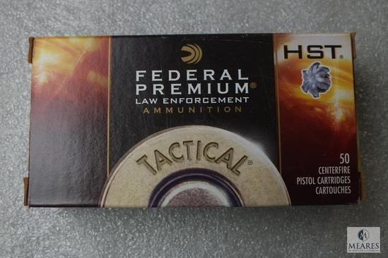 50 Rounds Federal Premium 9mm Luger Tactical Ammo 147 Grain HST Ammunition