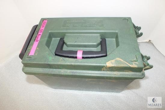 "100 Rounds 12 Gauge Slugs 2-3/4"" Shotgun Shells in Case-Gard Camo Dry Box"