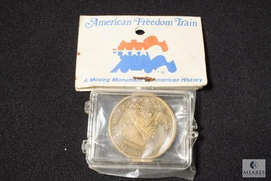 1976 Bicentennial American Freedom Train Commemorative Bronze Medal
