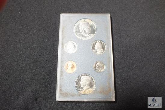 1990 United States Proof Set featuring Eisenhower Centennial Commemorative Dollar
