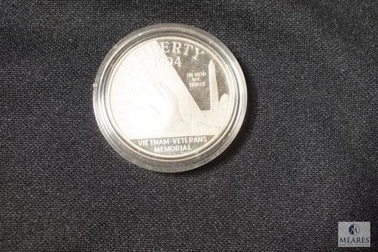 1994 Vietnam Veterans Memorial Liberty Dollar